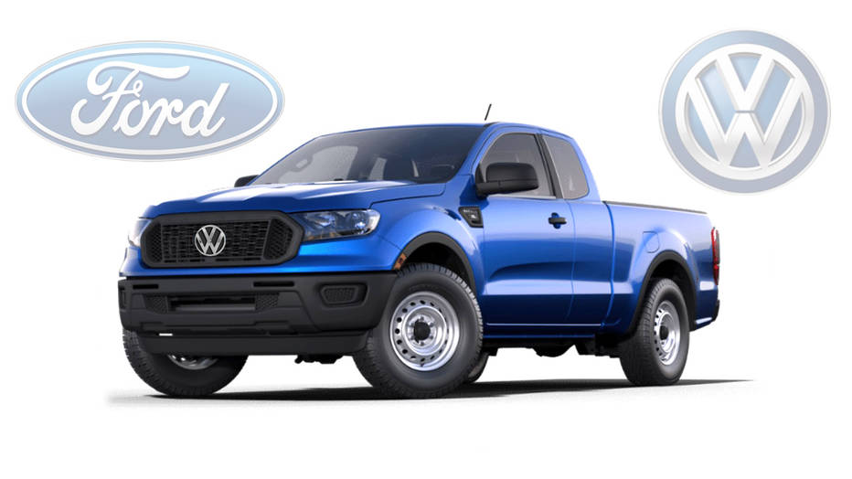 VW And Ford Are Teaming Up For Vans and Pickups